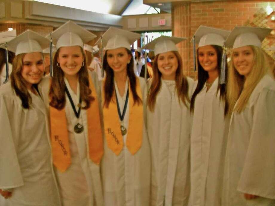 Immaculate Graduation Photo: Cristi Parks / Hearst Connecticut Media Group