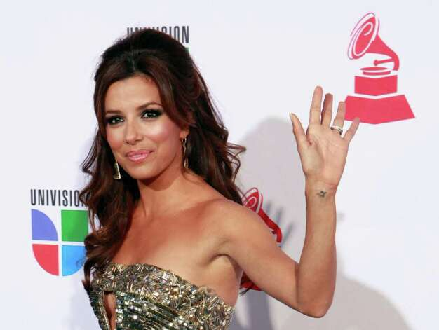 Actress Eva Longoria Parker arrives at the 10th Annual Latin Grammy Awards on Thursday, Nov. 5, 2009, in Las Vegas. Photo: AP