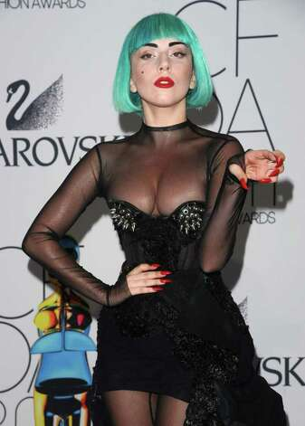 Singer Lady Gaga attends the 2011 CFDA Fashion Awards at Alice Tully Hall on Monday, June 6, 2011, in New York. (AP Photo/Peter Kramer) Photo: Peter Kramer, FRE / KRAPE