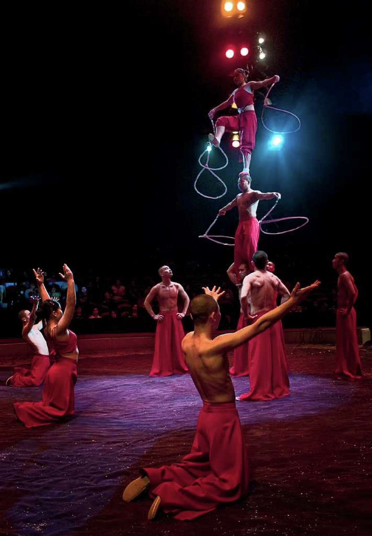 The Big Apple Circus gave a performance in Stamford on June 12.