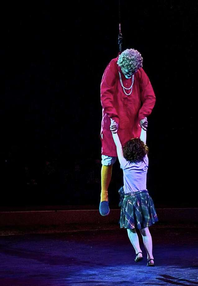 The Big Apple Circus gave a performance in Stamford on June 12. Photo: Mike Macklem / Hearst Connecticut Media Group