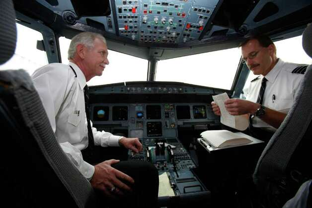 "4. US Airways, 12 percent. You'd think Captain Chesley ""Sully"" Sullenberger (left) and co-pilot Jeffrey Skiles bought US Airways some goodwill when they landed a disabled jet on the Hudson River on Jan. 15, 2009. Sullenberger checked the cabin twice to make sure everyone was evacuated before grabbing the logbook and getting out himself. Photo: Pool, Getty Images / 2009 Getty Images"