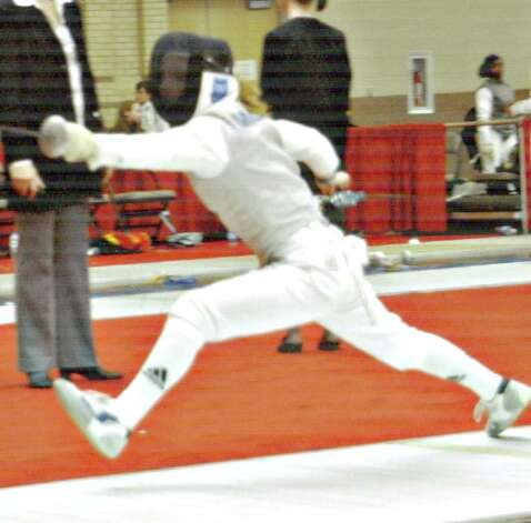 Lauren Miller will be doing her fencing for Yale next season. Photo: Contributed Photo, ST / Greenwich Citizen