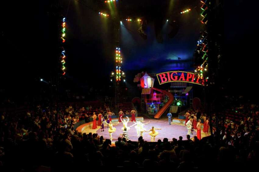 The Big Apple Circus at Mill River Park in Stamford, Conn., June 12, 2011.
