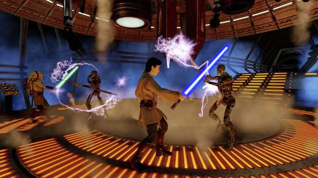 Become a Jedi: 'Kinect Star Wars' coming to Xbox 360 Photo: (Courtesy Of Microsoft)