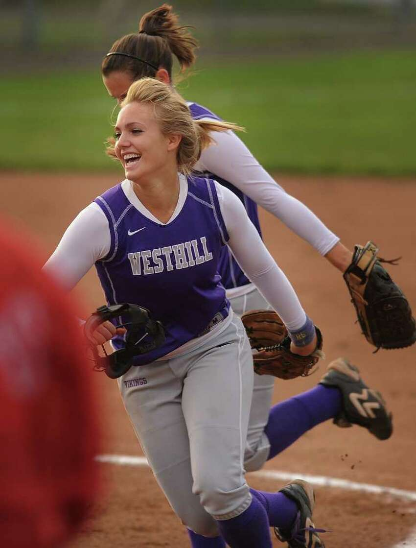 Westhill vs. Conard in the Class LL softball state championship game at West Haven High School on Monday, June 13, 2011.
