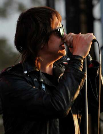 Julian Casablancas of The Strokes performs during the Bonnaroo Music and Arts Festival in Manchester, Tenn., Sunday, June 12, 2011. Photo: AP