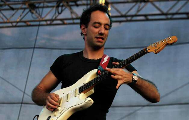 Albert Hammond Jr., of The Strokes performs during the Bonnaroo Music and Arts Festival in Manchester, Tenn., Sunday, June 12, 2011. Photo: AP