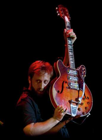 Dan Auerbach of The Black Keys performs during the Bonnaroo Music and Arts Festival in Manchester, Tenn. on Saturday, June 11, 2011. Photo: AP