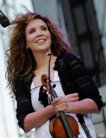 Alison Krauss of Alison Krauss & Union Station performs during the Bonnaroo Music and Arts Festival in Manchester, Tenn., Saturday, June 11, 2011. Photo: AP