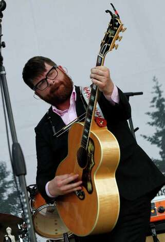 Colin Meloy of the Decemberists performs during the Bonnaroo Music Festival in Manchester, Tenn., Friday, June 10, 2011. Photo: AP