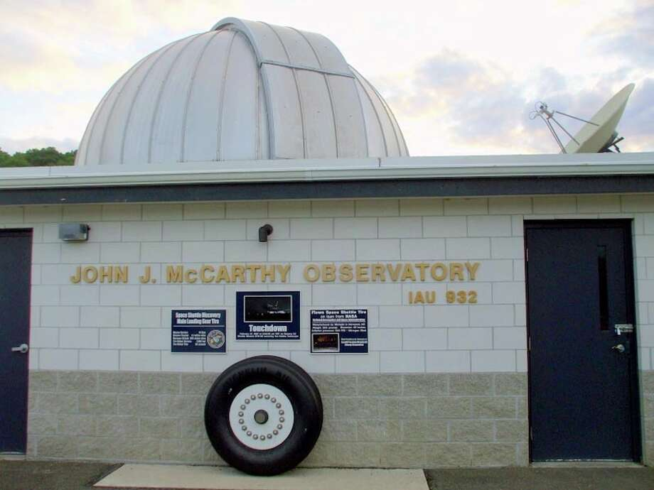 The John J. McCarthy Observatory in New Milford will hold a summer solstice event Saturday from 11 a.m. to 2 p.m. Attendees will have an opportunity to safely look at the sun through a solar telescope. Find out more.  Photo: Brian Koonz / The News-Times