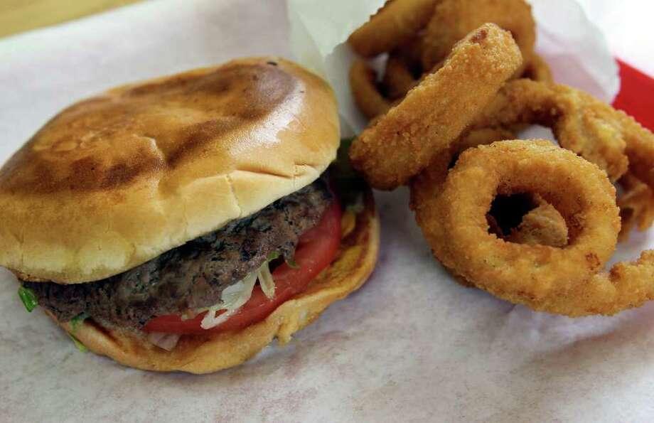 TJ's Hamburgers: 1973259 Loop 337 New Braunfels, (830) 620-5331, www.tjsburgers.com Photo: TOM REEL, SAN ANTONIO EXPRESS-NEWS / © 2011 San Antonio Express-News