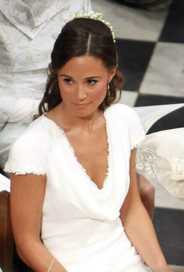 LONDON, ENGLAND - APRIL 29:  Maid of Honour Pippa Middleton seen during the Royal Wedding of Prince William to Catherine Middleton at Westminster Abbey on April 29, 2011 in London, England. The marriage of the second in line to the British throne is to be led by the Archbishop of Canterbury and will be attended by 1900 guests, including foreign Royal family members and heads of state. Thousands of well-wishers from around the world have also flocked to London to witness the spectacle and pageantry of the Royal Wedding. (Photo by Clara Molden  - WPA Pool/Getty Images) *** Local Caption *** Maid of Honour Pippa Middleton; Photo: Getty Images