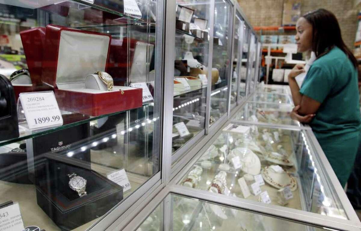 Costco Jewelry Counter