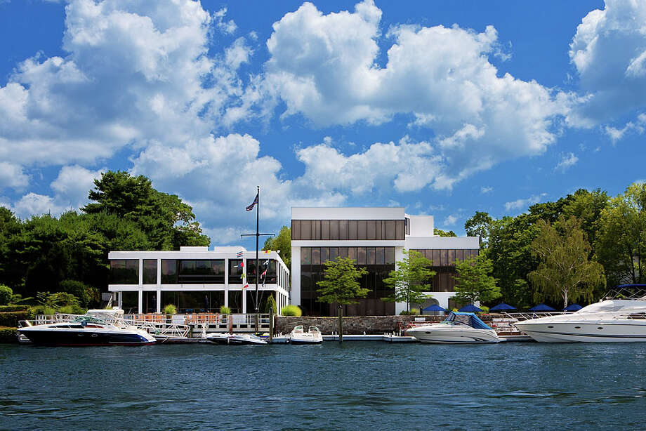 The Anchorage, a 45,000-square-foot office complex on the edge of Greenwich Harbor, provides tenants with a unique opportunity for a nautical commute. Photo: Contributed Photo / Greenwich Time Contributed