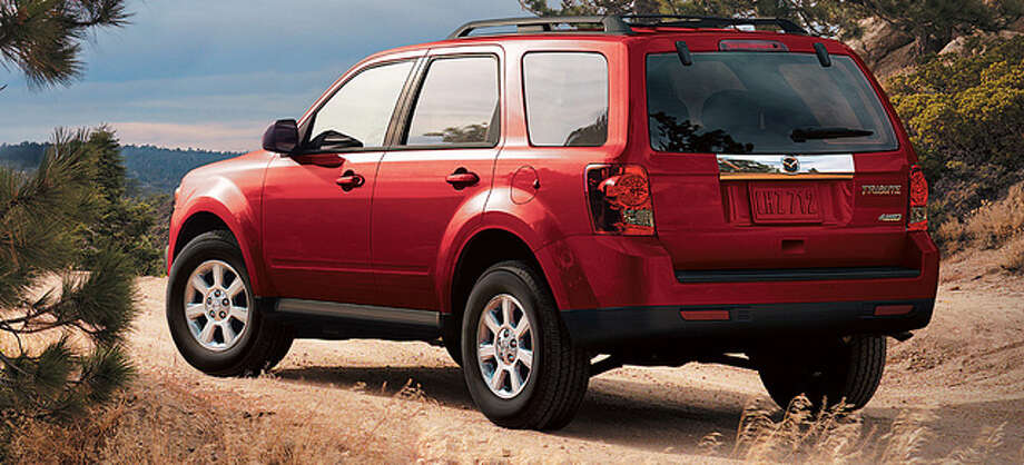 Mazda TributeModel year being recalled: 2001-04Number of vehicles being recalled: 109,000Reason for recall: Frame rust could separate a wheel control arm, resulting in loss of steering control Photo: Mazda, Promotional Photo / Mazda