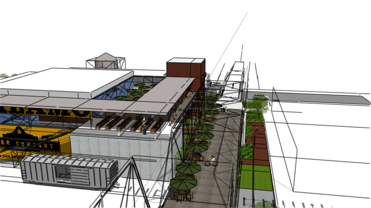 The project would incorporate a rooftop restaurant and there would be access to the nonhistoric part of the bridge from the brewery for small events.