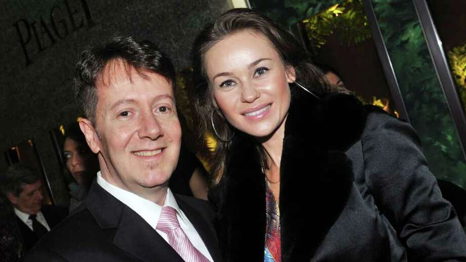 Laercio Xavier and Beata Boman attend a gaarden party at the Piaget Boutique on March 10, 2011 in New York City. Photo: Henry S. Dziekan III, Getty Images For Piaget / 2011 Getty Images