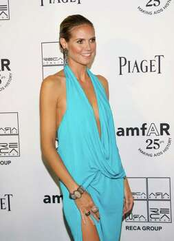 NEW YORK, NY - JUNE 14:  Heidi Klum attends the 2nd Annual amfAR Inspiration Gala at The Museum of Modern Art on June 14, 2011 in New York City. Photo: Neilson Barnard, Getty Images / 2011 Getty Images