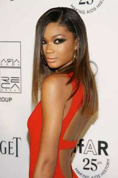 71. Model Chanel Iman Photo: Neilson Barnard, Getty Images / 2011 Getty Images