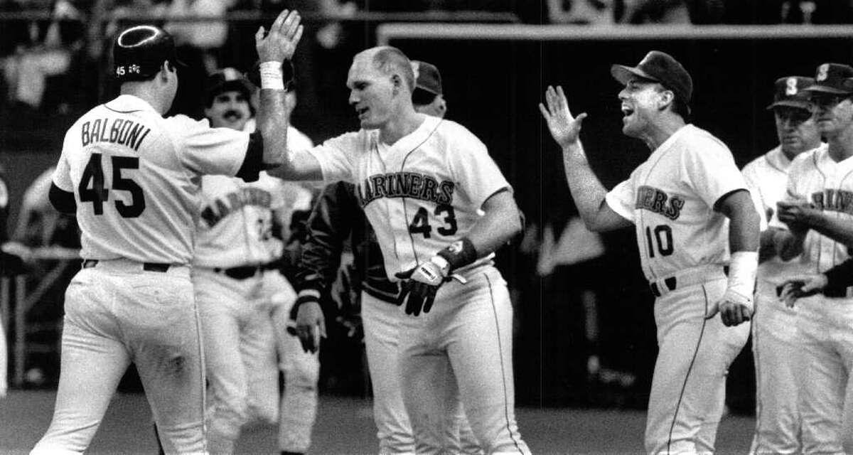 40. Bye Bye: Steve Balboni hit home runs, and that was about all he did. A career .229 hitter, Balboni hit 181 homers in 11 seasons, although he only spent half of the 1988 season with the Mariners. He hit 21 homers in 97 games for Seattle.