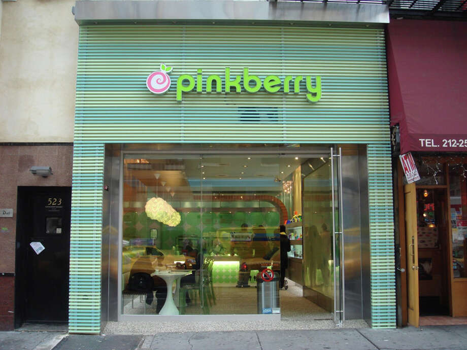 Pinkberry, whose Manhattan store is pictured here, is slated to open in early fall on Greenwich Avenue. Photo: Contributed Photo / Stamford Advocate Contributed