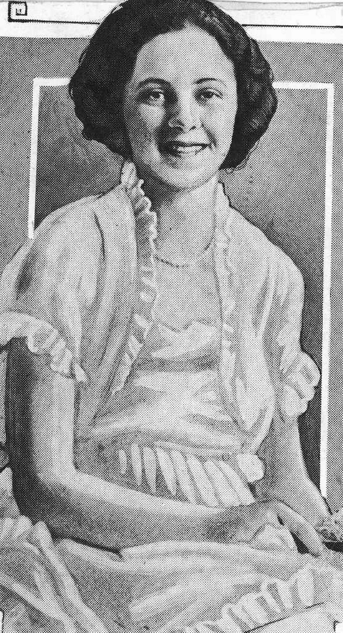 An undated P-I file photo of Sylvia Gaines, who was killed at Green Lake June 16, 1926.