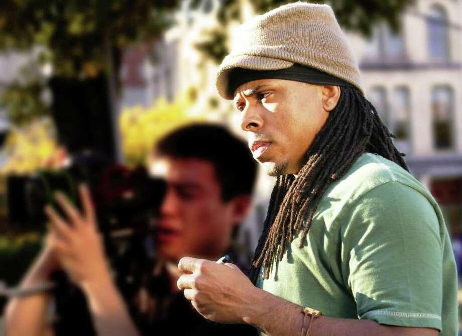 """Ya'Ke Smith, director of the short film """"Katrina's Son."""" Photo: Courtesy Photo"""