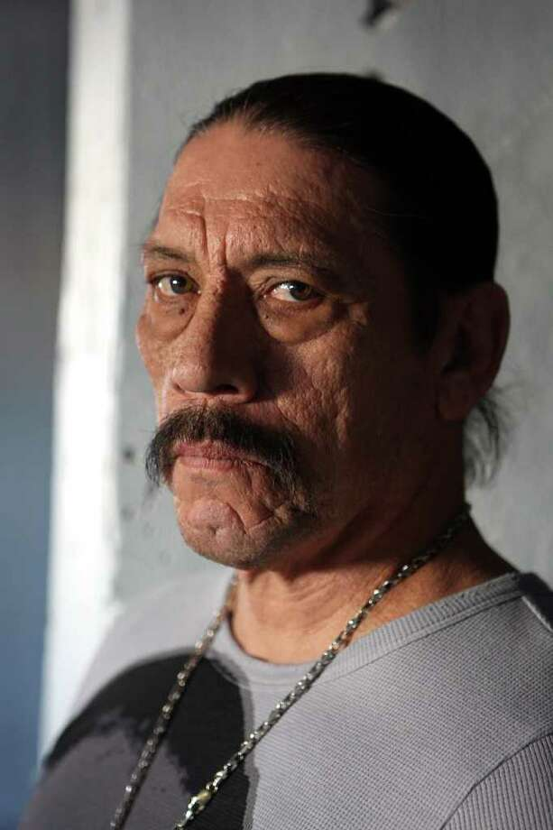 CONEXION: Local filmmaker Pablo Veliz is filming The Boys of Ghost Town in San Antonio. One of the stars of the movie is Danny Trejo, who's been in several Robert Rodriguez films.  Helen L. Montoya/Staff Photo: HELEN L. MONTOYA, Helen L. Montoya/Staff / SAN ANTONIO EXPRESS-NEWS