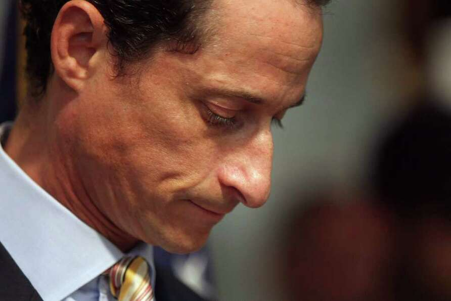 NEW YORK, NY - JUNE 16:  Rep. Anthony Weiner (D-NY) announces his resignation June 16, 2011 in the B