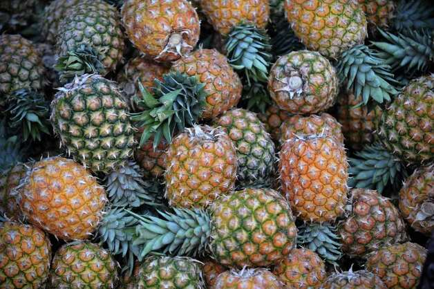 No. 3: pineapples. Photo: ORLANDO SIERRA, AFP/Getty Images / 2010 AFP