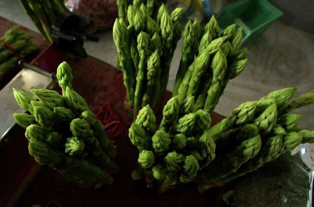 No. 5: asparagus. Photo: Ralph Orlowski, Getty Images / 2009 Getty Images