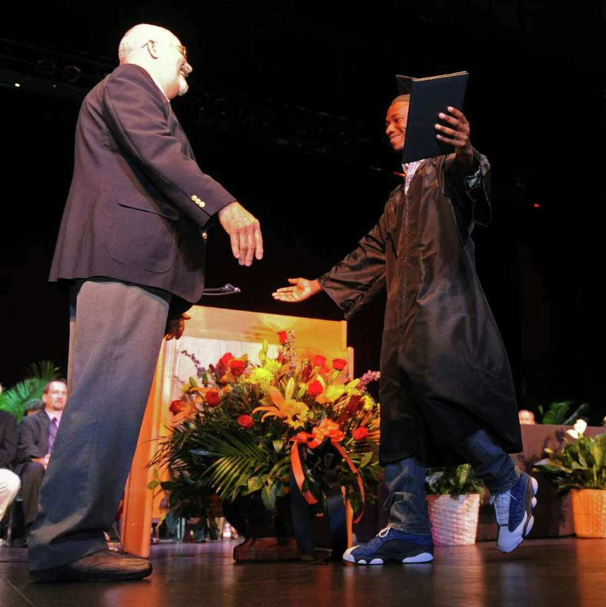 Bullard Havens graduation ceremony at the Klein Memorial Auditorium in Bridgeport, Conn., on June 16, 2011.