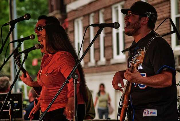 Stamford's Bandapalooza went off without a hitch on June 16. Photo: Mike Macklem / Hearst Connecticut Media Group