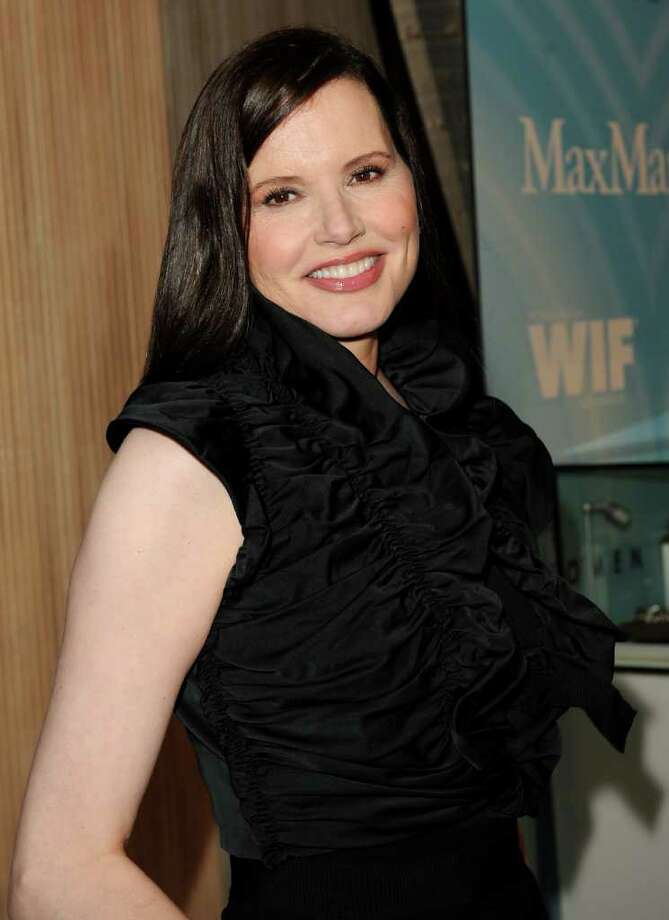 Actress Geena Davis arrives. Photo: Jason Merritt, Getty Images For WIF / 2011 Getty Images