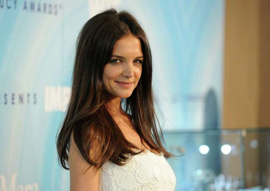 Actress Katie Holmes arrives. Photo: Jason Merritt, Getty Images For WIF / 2011 Getty Images