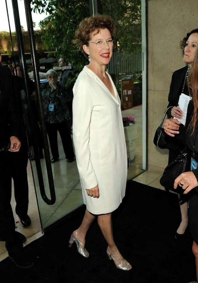 Actress Annette Bening arrives. Photo: Jason Merritt, Getty Images For WIF / 2011 Getty Images