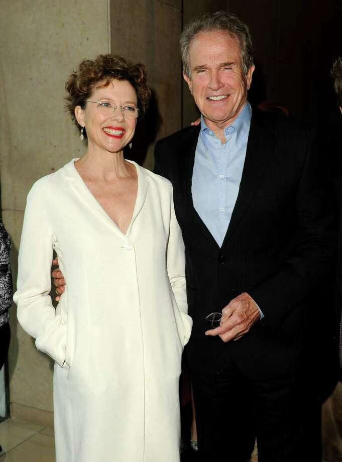 Actors Annette Bening and Warren Beatty arrive. Photo: Jason Merritt, Getty Images For WIF / 2011 Getty Images