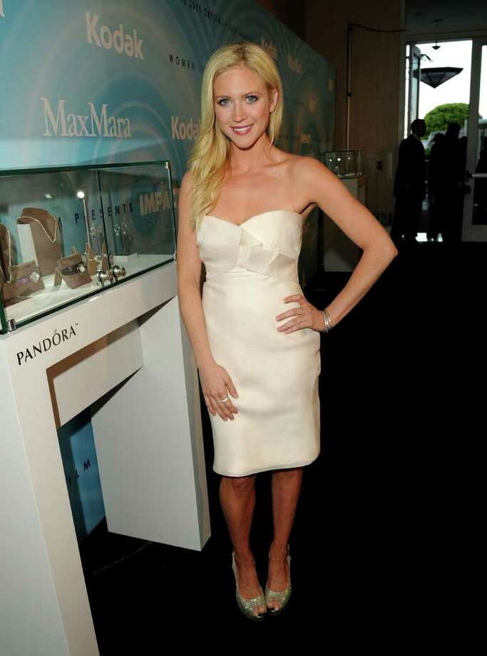 Actress Brittany Snow arrives. Photo: Jason Merritt, Getty Images For WIF / 2011 Getty Images