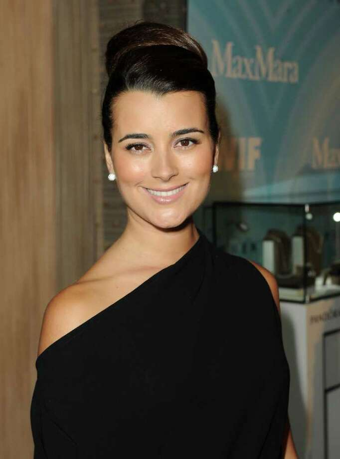 Actress Cote de Pablo arrives. Photo: Jason Merritt, Getty Images For WIF / 2011 Getty Images