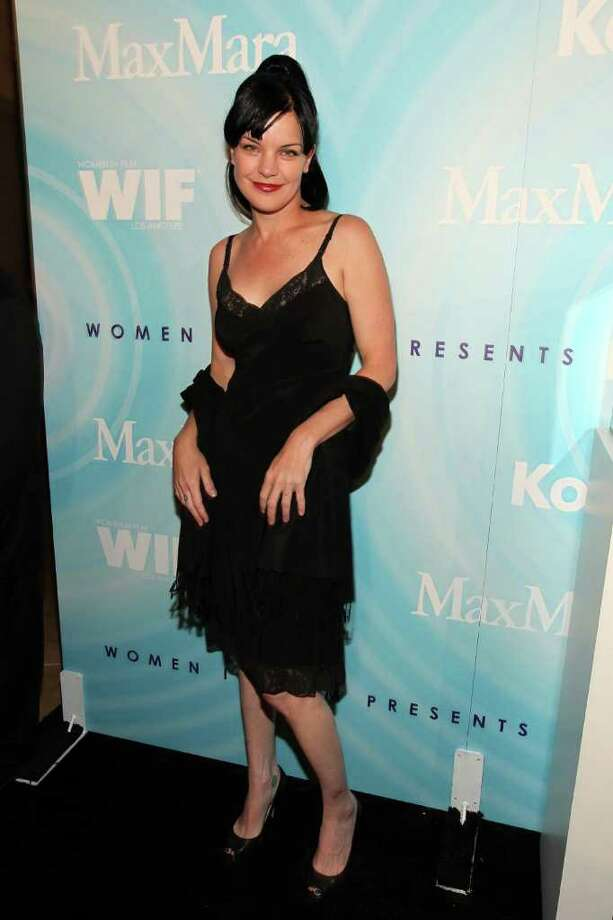 Actress Pauley Perrette arrives. Photo: Christopher Polk, Getty Images For WIF / 2011 Getty Images