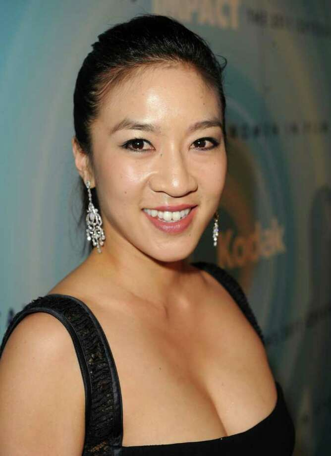 Figure skater Michelle Kwan arrives. Photo: Jason Merritt, Getty Images For WIF / 2011 Getty Images