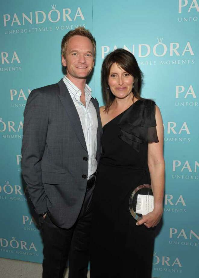 Actor Neil Patrick Harris and director Pamela Fryman, recipient of The Dorothy Arzner Directors Award, pose backstage. Photo: John Shearer, Getty Images For Pandora Jewelry / 2011 Getty Images