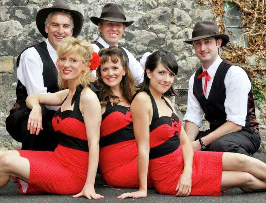 British swing band The Swing Commanders
