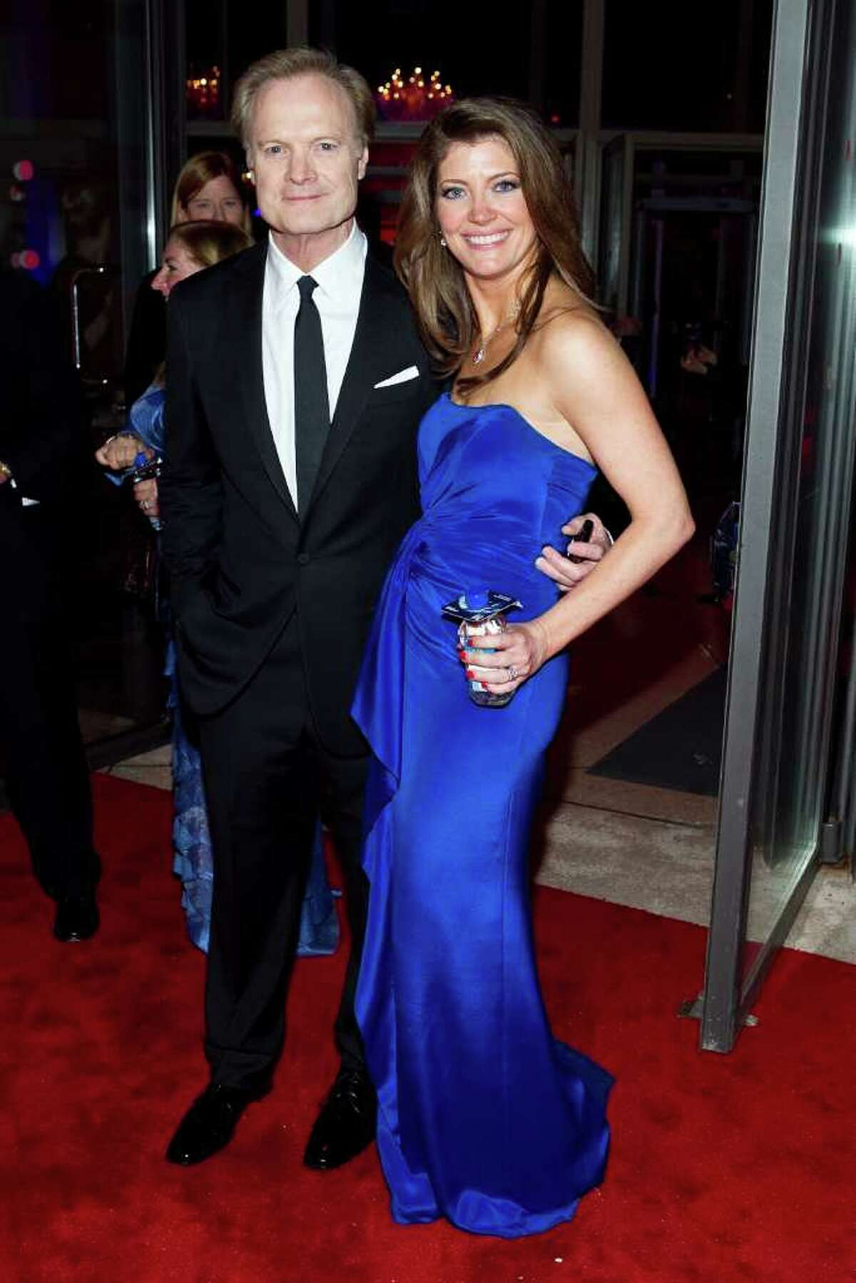WASHINGTON, DC - APRIL 30: MSNBC's Lawrence O'Donnell and and Norah O'Donnell attned the MSNBC Correspondents' after party with FIJI Water at Embassy of Italy on April 30, 2011 in Washington, DC. (Photo by Paul Morigi/Getty Images for The New Yorker) *** Local Caption *** Norah O'Donnell;Lawrence O'Donnell;