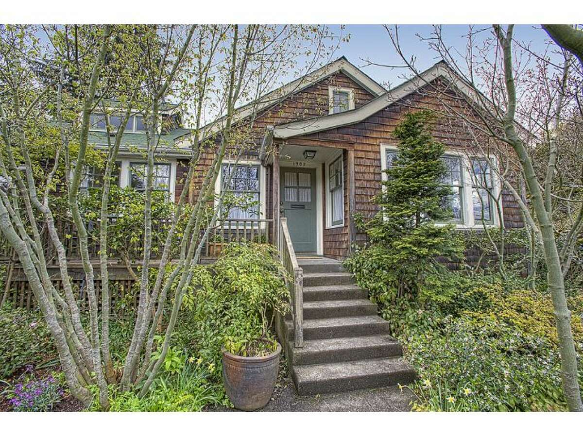 Here's a unique New England-style cottage at 1907 14th Ave. E. in Seattle's Capitol Hill neighborhood, beside Lake View Cemetery. The 2,870-square-foot house has four bedrooms, two and a half bathrooms, sits on a on a 7,583-square-foot lot and is listed for $1.135 million. (Listing: http://www.windermere.com/index.cfm?fuseaction=listing.PP3ListingDetail&ListingID=130235483)