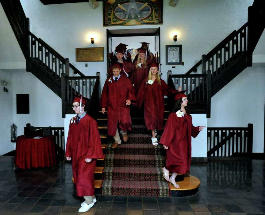 Wooster School graduation was held in Danbury, Friday, June 17, 2011. Photo: Michael Duffy / The News-Times