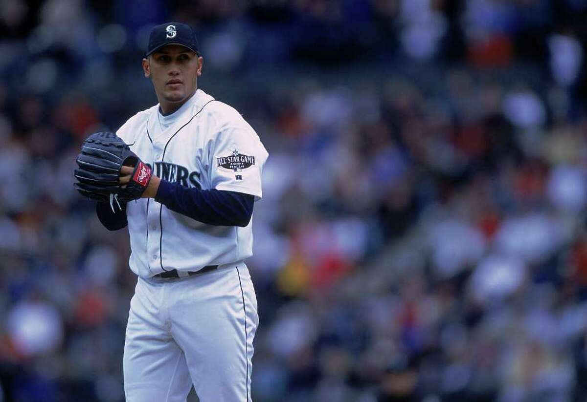 15. Freddy Garcia: The Mariners got Garcia in the Randy Johnson trade, and he didn't disappoint in his April 7, 1999, debut. He gave up two runs on seven hits and two walks in 5.2 innings, striking out five in a 7-3 win over the Chicago White Sox. For the season, he went 17-8 with a 4.07 ERA, striking out 170 in 201.1 innings. He finished second in the American League Rookie of the Year voting and ninth in the Cy Young voting. Garcia won 76 games in five-plus seasons for the Mariners, but was traded before the deadline in 2004 to the Chicago White Sox for outfielders Mike Morse and Jeremy Reed and catcher Miguel Olivo.