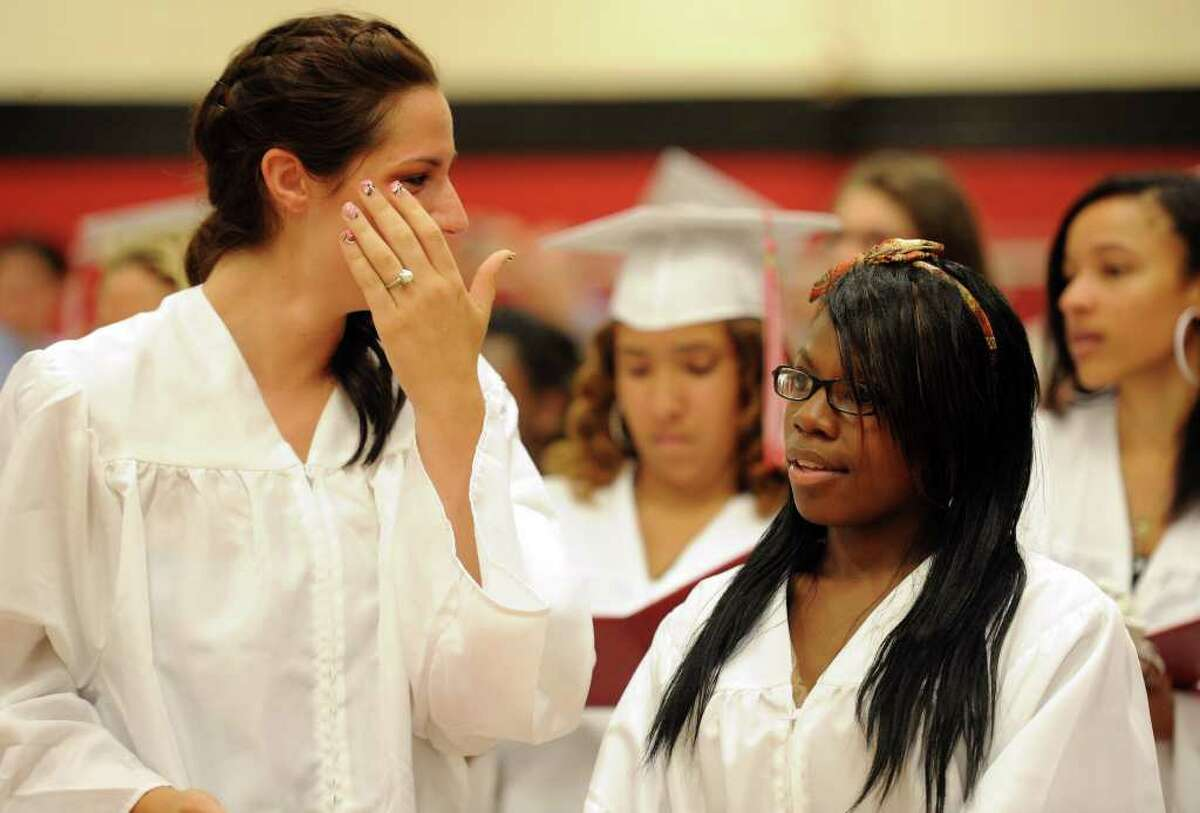 Derby High School's graduation ceremony on Friday, June 17, 2011.